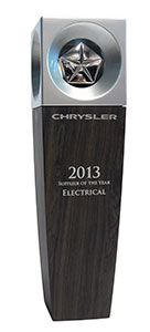 2013 FCA - Supplier of the Year - Electrical Supplier of the Year