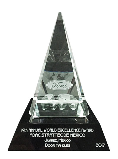 2017 Ford World Excellence Award - Silver Quality Award