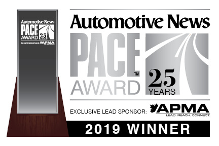 2019 Pace Award Winner Logo